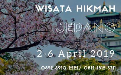 Itinerary WH Jepang; 2-6 April 2019