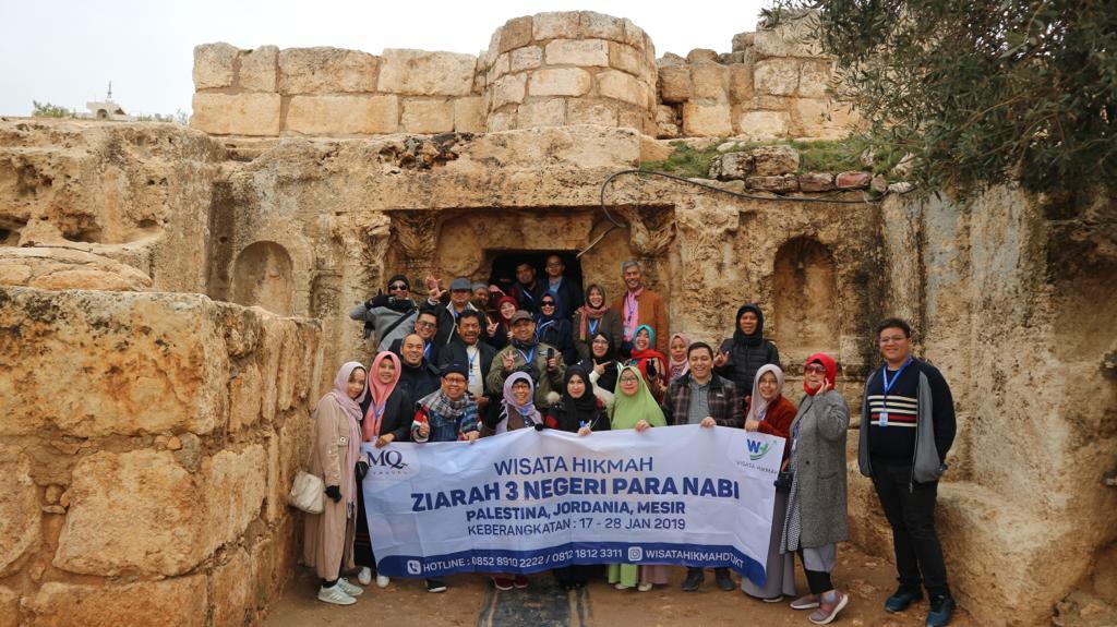 ITINERARY WH ZIARAH 3 NEGERI PARA NABI; 18-28 SEPTEMBER 2019